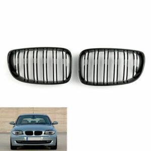 For BMW 1 Series E81 E87 E82 E88 128i 135i 08-12 Gloss Black Front Grille U8