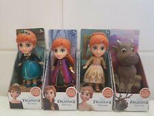 "4 NEW Disney Frozen 2 Mini Toddler Dolls 3"" Frozen RARE Anna x3 + Sven New."