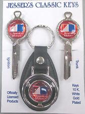 AMC Red American Motors Corp. B-1 Deluxe Classic Key Set 1968 1969
