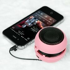 Portable Mini 3.5mm Jack Hamburger Sound Loud Speaker For Phones Tablet PC NEW