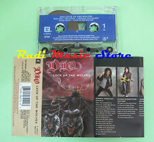 MC DIO Lock up the wolves 1990 usa REPRISE 9 26212-4 no cd lp dvd vhs