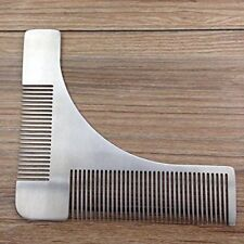 Beard Template Comb Stainless Steel Shaper Tool for Shaping & Styling
