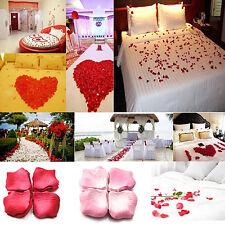 1000Pcs Wedding Scatter Confetti Party Silk Fake Rose Flower Petals Exquisite