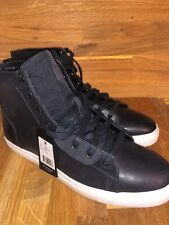 Dark Navy G-Star Raw Men's Zlov Mid High-Top Sneakers Shoes Size US 13