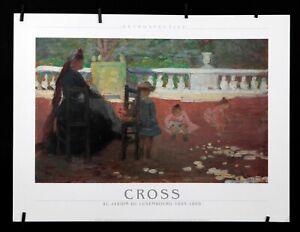 Cross - Au Jardin Du Luxembourg, 1885 - 1991 - Offset Poster