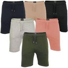 Mens Jogger Shorts Brave Soul Tarley Jersey Gym Pants Elasticated Waist