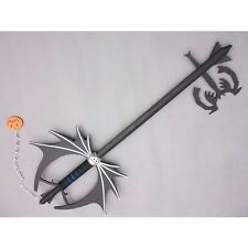 Kingdom Hearts Sora Halloween Pumpkin head Keyblade Cosplay Handwork Props 36''