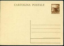 V9067 ITALIA REPUBBLICA 1947 Cartolina Postale 3 L. Democratica NUOVA, Fil. C131
