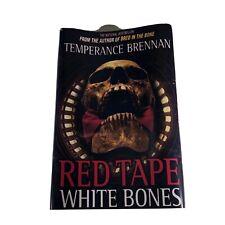 BONES Red Tape White Bones Temperance Brennan Prop Book Cover w/ COA