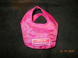 American Girl Doll Pink Tote Bag Fashion Show doll carrier