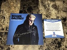 Roger Daltrey of The Who Rare Signed Autographed CD As Long As I Have You + BAS