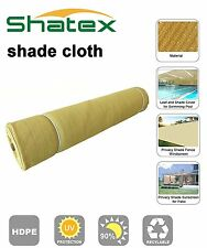 Shatex Sunblock Shade Cloth 90% Wheat 6x8ft for Plant Cover, Greenhouse