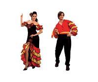 Latin Carnival #Rumba Adult Female Male Fancy Dress Cuba Dancing Costume