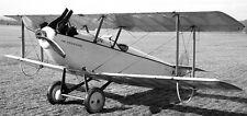 Messenger Dayton-Wright USA Reconnaisance Airplane Mahogany Wood Model Large