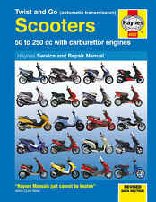 Yamaha Scooter XN125 Teo's XQ125 Aerox Majesty Maxster Neos Haynes Manual 4082