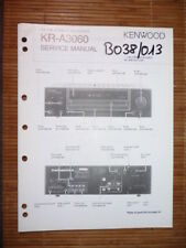 MANUAL DE SERVICIO Kenwood kr-a3060 receptor, original