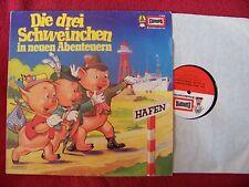 Die drei Schweinchen in neuen Abenteuern   klasse   Europa LP