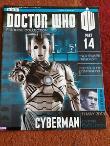 Dr Who Figurine Collection 14 Cyberman Magazine Only