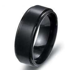Man Stainless Steel Titanium World Of Warcraft Engagement Band Ring Size 7-12