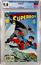 SUPERBOY #9~CGC 9.8 WP~DC~1st full appearance of KING SHARK~Suicide Squad~🔥KEY