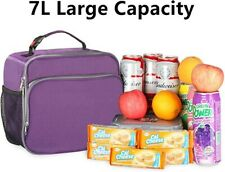 Insulated Lunch Box Thermal Durable Reusable Lunch Bag Lunch Tote Bag Bento Bag