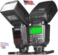Voking VK580 E-TTL Speedlite Shoe Mount Flash for Canon EOS 70D 80D Rebel T7i T6