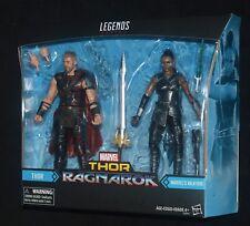 "THOR & VALKYRIE RAGNAROK Marvel Legends 2-Pack Avengers 6"" Action Figures MIP"
