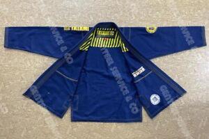Best Quality Brazilian jiu jitsu Gi Tatami blue bjj kimono bjj uniform /A3 Size