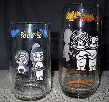 2 Vintage Love Is.. Kim Casali Glasses Drinking Los Angeles Times 1970's