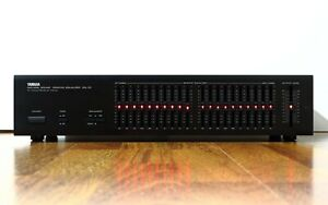 Equalizzatore YAMAHA EQ70 graphic equalizer EQ-70 20 bande HI FI stereo NATURAL