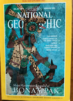 NATIONAL GEOGRAPHIC February 1995 with MAP of ITALY, The Amazon, Venice