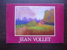 Exhibition catalogue wally findlay gallery invitation-jean vollet 1984 (f)