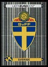 Panini Euro 2012 (Swiss Platinum Edition) Badge (Sweden) No. 427
