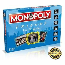 Friends Edition Monopoly Board Game Popular TV Series Property Strategy Family