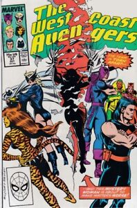 WEST COAST AVENGERS (1985) #37 - Back Issue