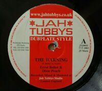 "JAH TUBBYS - ERROL BELLOT & DIXIE PEACH - The Warning 10"" Vinyl ROOTS REGGAE DUB"
