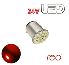 1 Ampoule P21W BA15s 22 LED ROUGE Camion SCANIA IVECO MAN RENAULT VOLVO DAF
