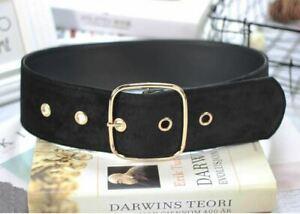 Ladies Women Fashion Belt/Style 20 - Black
