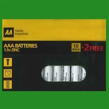 1x AAA 'AA' de la marque R03 1.5 V Heavy Duty Zinc Batteries Adapté Pour Télécommandes