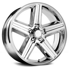 1 NEW IROC Chrome 22X8.5 Wheel 5x120 +38 Offset 248T Rim FREE SHIPPING
