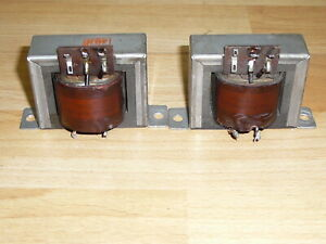 Two Vintage Telefunken output transformers for your Tube amp. Klangfilm project