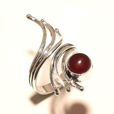 Beautiful Garnet Free Shipping Silver Plated Gemstone Ring Jewellery Wp5470