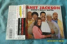 JANET JACKSON Doesn't really matter Japan Press w/obi