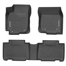 OEDRO Floor Mats Fit for 2013-2018 Toyota RAV4 Black Full Set Liners All-Weather