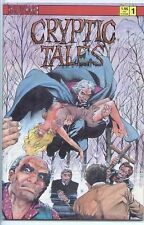Cryptic Tales 1987 series # 1 near mint comic book