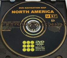 Toyota Navigation DVD Map Latest Update 100%OEM >>*See Chart for Compatible Cars