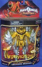 "Power Rangers Mystic Force 7"" Yellow Power Ranger to Thunder Dragon New 2006"