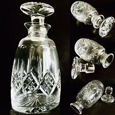 "Vintage (1950s) Stuart Crystal ""Glengarry / Cambridge"" 9""/23cm Decanter (1.2kg)"