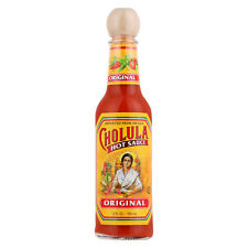 NEW SEALED CHOLULA HOT SAUCE ORIGINAL 5 FL OZ IMPORTED FROM MEXICO FREE SHIPPING