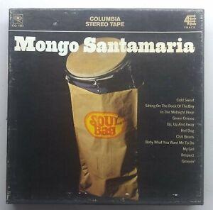 Mongo Santamaria - Soul Bag - COLUMBIA CQ 1093 - 4 track 7 1/2
